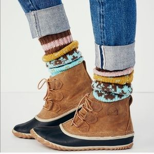 sorel out n about ducks boots rain boots 8.5